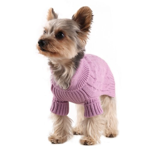 Small Dog Sweater For Poodle, Yorkie, Chihuahuas,  Dachshund