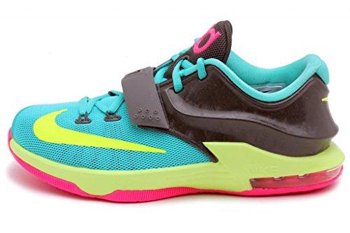 Galleon - Nike KD VII GG Kids Sneaker Hyper Jade Hyper Pink Dark Base  Grey Volt 669942-300 (SIZE  6.5Y) 2cc825b23d23