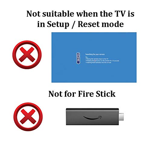 Basic Replacement Remote for Toshiba 32LF221U19 43LF421U19 43LF621U19 49LF421U19 50LF621U19 55LF621U19 TF-50A810U19. Without Voice Recognition.
