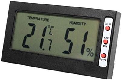 RTYUU Hygrometer-Thermometer, Digital-Innenraum-genauer Innentemperatur- Und Feuchtigkeitsmesser-Monitor Mit LCD-Anzeige Für Innenministerium-Fabriken Schulen Märkte Komfort.