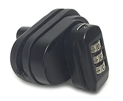 Universal Combination Gun Trigger Lock - Fits Pistols, Rifles, Shotguns - Lifetime Warranty