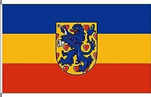 Bandera Banner Bandera País circular Gifhorn–80x 200cm