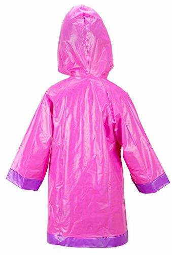 Doc McStuffins Girls Pink Rain Slicker Raincoat (L(6/7)) by Disney (Image #1)