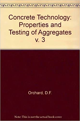 Concrete Technology: Properties and Testing of Aggregates v.