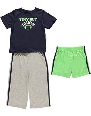Carters Baby Boys' Football 3-Piece Sleep Set