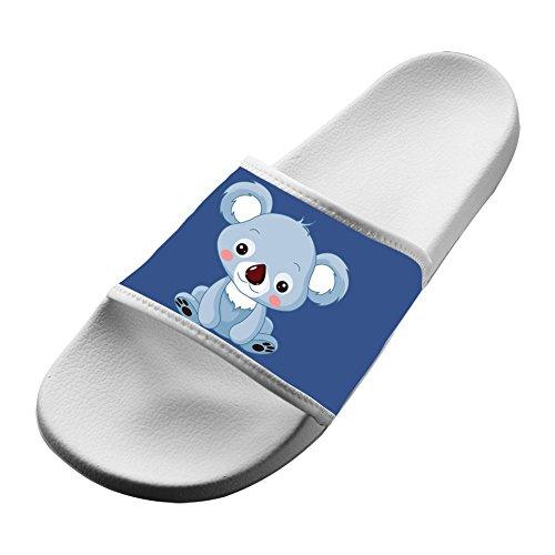 Cartoon Slide Outdoor Fashion Slippers amp; Indoor White Lovely Sandals Koala 6vgEqxd