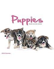 Puppies 2019 Double-View Easel Desk Calendar