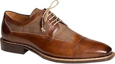 Mezlan Men's Leather Checkered Oxfords Men's Shoes 4JRUI5v