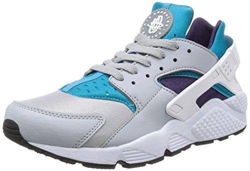 Nike Herren Air Huarache Wolf Grau / Weiß-Aquatone