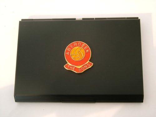 Aberdeen Football Club Black Business Card Holder