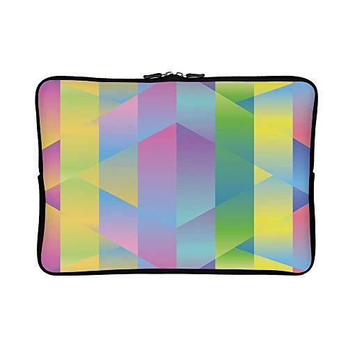 DKISEE Abstract Degrade Neoprene Laptop Sleeve Case Waterproof Sleeve Case Cover Bag 12 inch for MacBook/Notebook/Ultrabook/Chromebooks