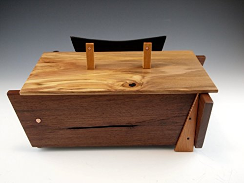 Artisan crafted wooden box