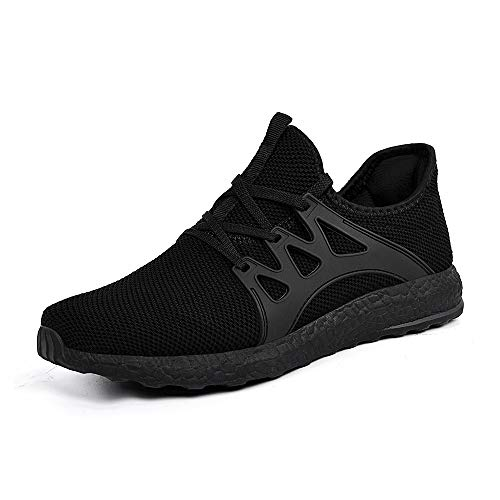 f474818d07c SouthBrothers Womens Sneakers Ultra Lightweight Mesh Breathable Athletic  Running Walking Gym Shoes Black 10 M US