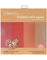 Lia Griffith Frosted Craft Paper