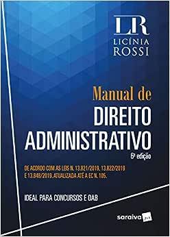 Manual de Direito Administrativo - 6ª Ed. 2020