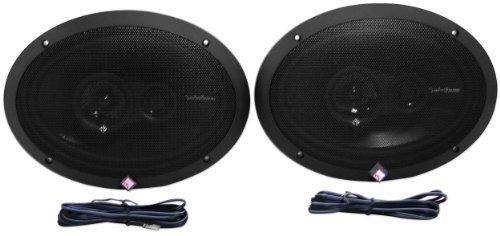 Rockford Fosgate R1693 6x9 Inches Prime Series 3 Way 240 Watt (Pair) Full-range Car Speakers ()
