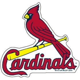 Mlb Precision Cut Magnet - St. Louis Cardinals Precision Cut Magnet