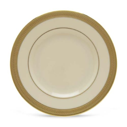 Lenox Lowell Gold Banded Ivory China Butter Plate