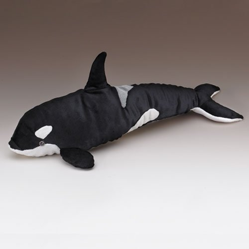 Killer Orca Whale Plush Stuffed Toy 18 Long by Wildlife Artists