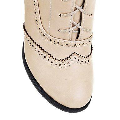 De donna-stivaletti-ufficio y trabajo/vestir/casual-comoda-quadrato-pu (TPU) -Nero/marrón/beige, marrón, us10.5 / eu42 / uk8.5 / cn43 marrón