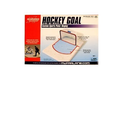 McFarlane Toys Classic Hockey Goal Display Set by Unknown