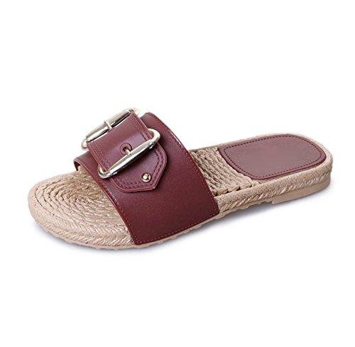 Piatto Pantofole delle Ciabatte Fondo Signore di di Estate weiwei A da Spiaggia gdxWqwYtg1