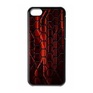 Okaycosama Funny IPhone 5C Cases Abstract 67 Protective Cute for Girls, Iphone 5c Cases for Girls with Designs, {Black}