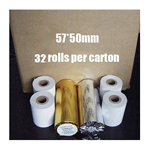Printer Parts 57mm Thermal Machine Printing pos Printer Paper Rolls 5750 Cash Register Paper for pos 58mm Receipt Printer - (Delivery from 15 to 20 Days)