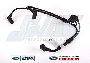 amazon com: compatible with ford lcf/international citystar turbo vacuum  harness w/connectors 6e7z9e498aa: car electronics