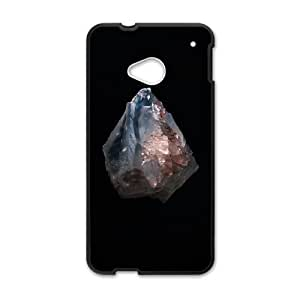 HTC One M7 Cell Phone Case Black Shine light like a salt rock YE3400096