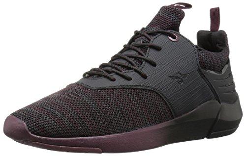 Creative Recreation Men's Motus Sneaker, Dark Burgundy Black, 9.5 D US