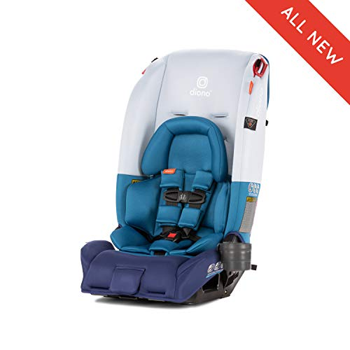 Diono Radian 3RX All-in-One Convertible Car Seat, for Children from Birth to 120 Pounds, Blue