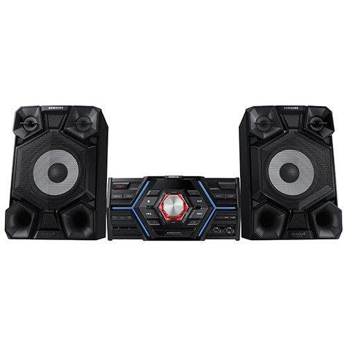 Samsung 1600-Watt Bluetooth Hi-Fi Audio Stereo Sound System With Single Disc Cd Player, AM/FM Radio Tuner, Karaoke Capability, Remote Control