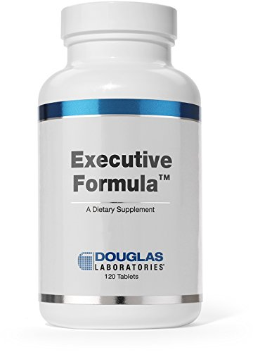 Douglas Laboratories® - Executive Stress Formula - Vitamins, Minerals, Enzymes, and Herbals to Support Body's Defense Against Stress* - 120 Tablets (Tabs Silica 120)