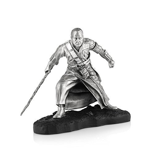 Royal Selangor Hand Finished Star Wars Collection Pewter Limited Edition Chirrut Figurine ()
