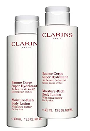 clarins moisture rich body lotion 400ml