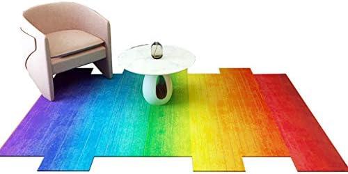 Marvelous Modern Rug Irregular Rainbow Color Sofa Living Room Dining Frankydiablos Diy Chair Ideas Frankydiabloscom
