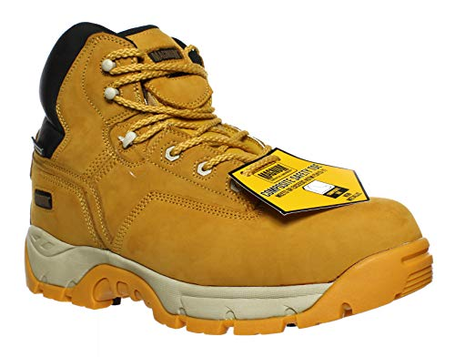Magnum Men's Precision Ultra Lite II Waterproof Comp Toe Boot,Wheat,11.5 M US