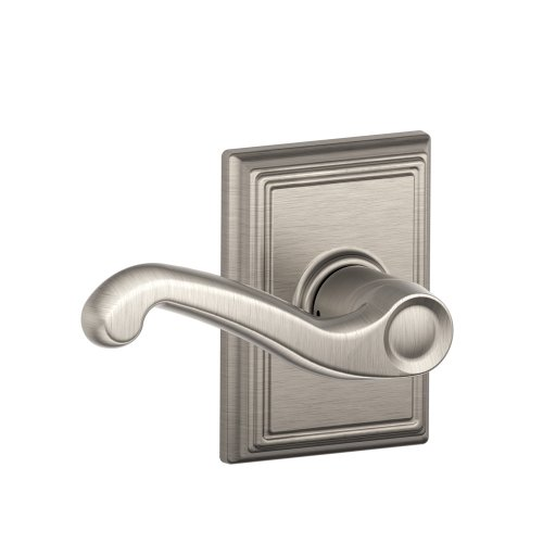 Schlage Lock Company F10FLA619ADD Addison Collection Flair Passage Lever, Satin Nickel
