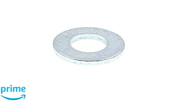 Prime-Line 9080595 Flat Washers 100-Pack OD SAE Zinc Plated Steel #10 X 1//2 in