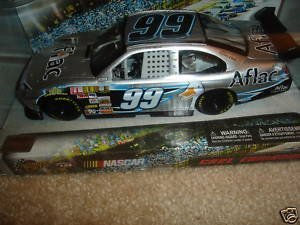 Carl Edwards #99 AFLAC Aflac Silver Ford Fusion COT 1/24 Scale Winners Circle - Silver Fusions Fusion Ford