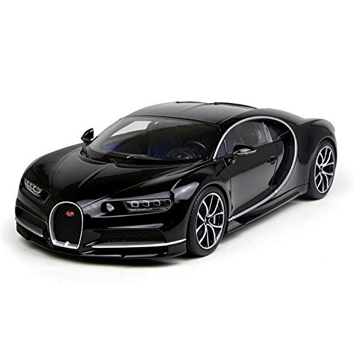 Bugatti Chiron Black 1/18 Diecast Model Car by Kyosho C09548BK