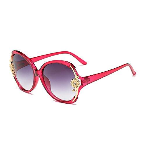 nbsp;,protection Uv Oversize Fleur Panpany Soleil Soleil Soleil 1 Femme Des Lunettes,lunettes Mode ☀lunettes Décoration femmes Multicolore De Pour ,nuances Lunettes qvwSpp