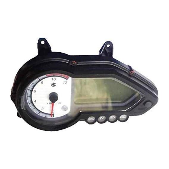 ZUPIN Plastic Bike Meter Case Speedometer Compatible for Bajaj Pulsar 150/180 Dtsi