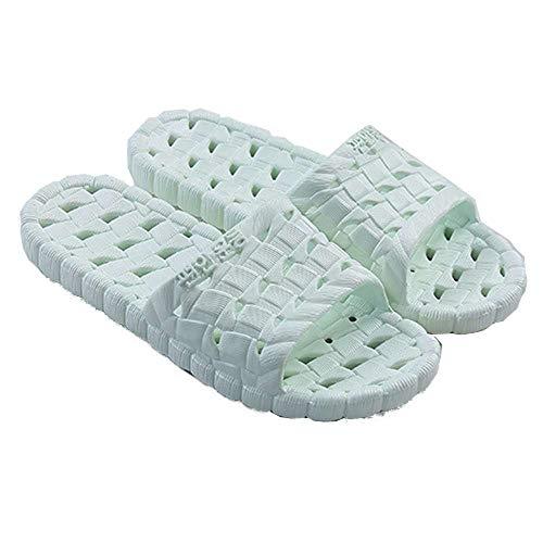 Indoor 6 Sandals Slide Soft Shower Women Bathroom Men Plastic Slippers Green Slip Non Ht8nn7qwY