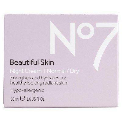 Boots No7 Beautiful Skin Night Cream Normal/Dry - 1.69 oz