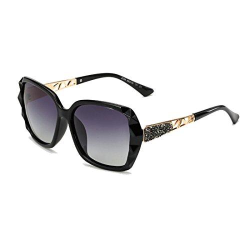 Armear Designer Shades Women Oversized Polarized Sunglasses UV Protection Eyewear (Grey gradient, - Sunglasses Faux