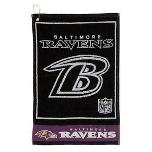 (Baltimore Ravens Jaquard Golf Towel)