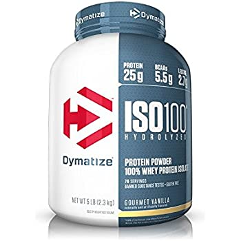how to use dymatize iso 100