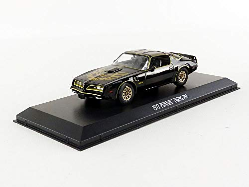 (1977 Pontiac Firebird Trans Am - Smokey and The Bandit (1977), Authentic Movie Decoration, Movie Themed Packaging, Protective Acrylic Case, 1:43 True-to-Scale, Limited Edition)